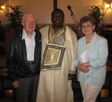 Julius Syuki Muli, our missionary in Kenya